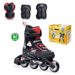 Rollerblade Patines Spitfire Combo 175 BlackRed