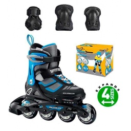 Rollerblade Patines Spitfire Combo 175 Black  Blue