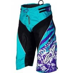 Alpinestars Shorts Gravity Blue/ Purple