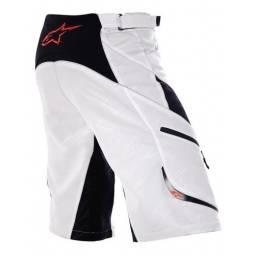 Alpinestars Shorts Drop White Black